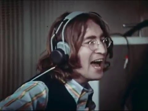 The Beatles: Hey Jude Rare Video In Studio Remastered 1/2