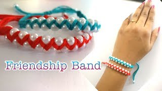 How To Make Friendship band | DIY | Handmade Band | Friendship Band