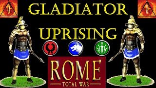 Gladiators Vs Roman Legion: Rome Total War (A.I. Only Battle)