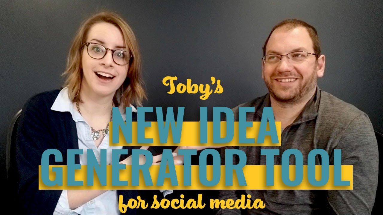 Need Social Media Content Ideas? Try This Resource!