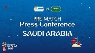 FIFA World Cup™ 2018: Uruguay - Saudi Arabia: Saudi Arabia - Pre-Match PC