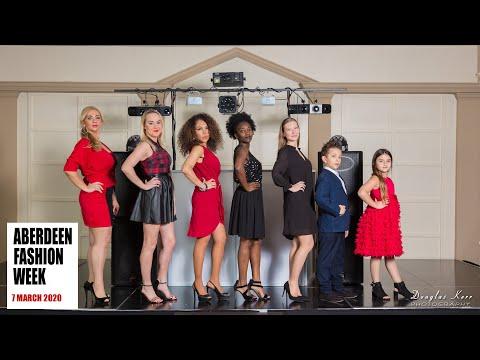 Aberdeen Fashion Week Promotional 2020