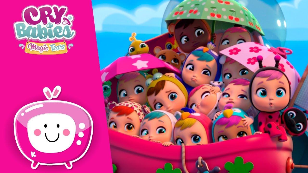 Previsão de TINA 🔮 CRY BABIES 💦 MAGIC TEARS 💕 NOVO Episódio 🌈 Desenhos para crianças