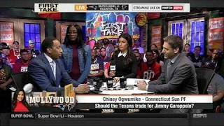 ESPN FIRST TAKE (2/2/2017)