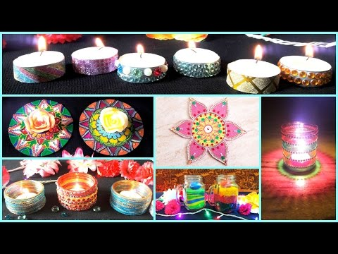 8 DIY- Diwali Decoration Ideas ( Easy and Creative)