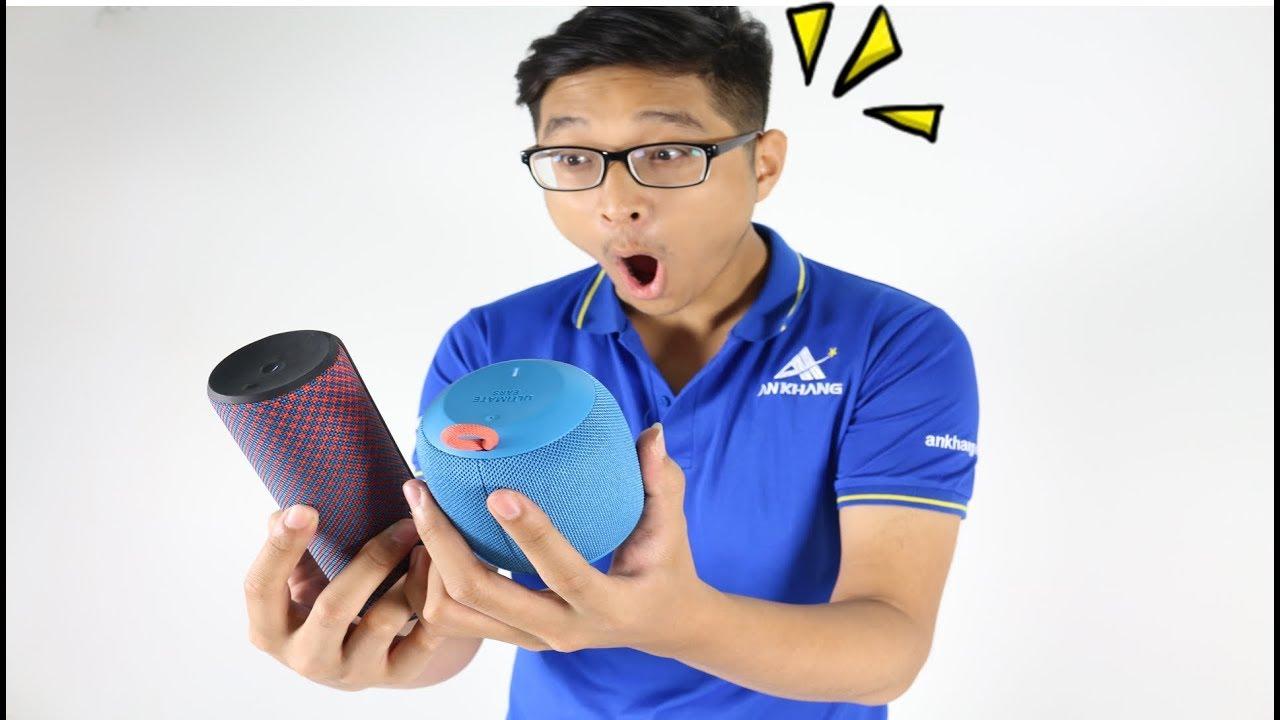 Loa Bluetooth khủng 4 triệu có gì đặc biệt - Ultimate Ears UE Wonderboom vs Ultimate Ears UE Boom 2