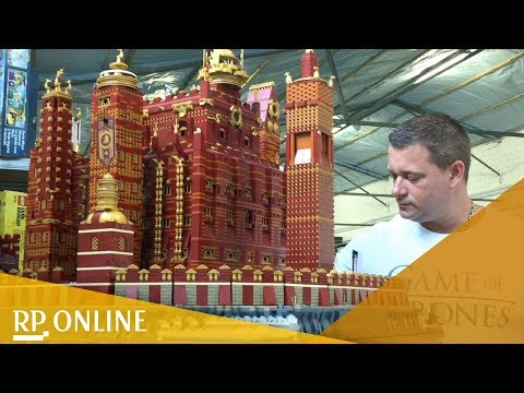 125.000 Teile: Lego-Fan baut riesige Game-of-Thrones-Burg nach