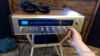 Realistic STA-76 Stereo Receiver Repair Part 1 of 2.