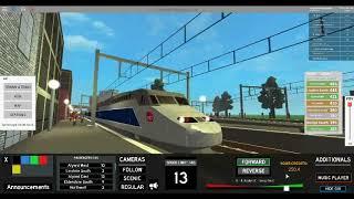 ROBLOX Terminal Railways TGV Passenger Run.