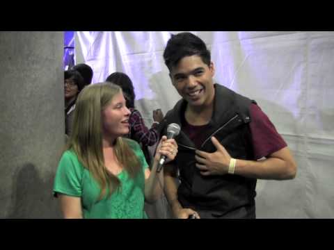 D Trix Interview at World of Dance Los Angeles