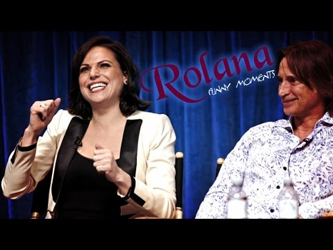 Rolana ║ Robert Carlyle and Lana Parrilla ∼ funny moments