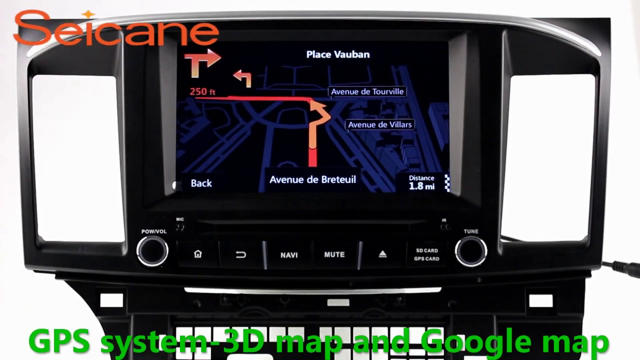 2 Din Radio Navigation System Stereo Upgrade For 2014 2015