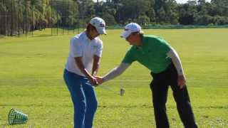 [Australian Golf Schools _ ANK GOLF] Ian Triggs golf lesson to Harry Oh (ANK GOLF Student)