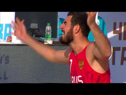 Лучшие моменты матча Бразилия - Россия пляжного Чемпионата мира в Казани