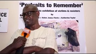 Picture exhibition displays Gambian former dictator's abuse
