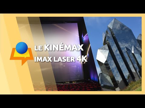 Futuroscope : Le Kinémax en IMAX Laser 4K (La Loi du plus fort)