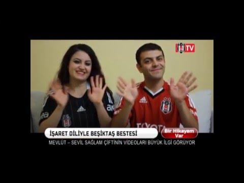 İşaret dili Beşiktaş seninle ölmeye geldik | Mevlüt & Sevil | Sign language anthem