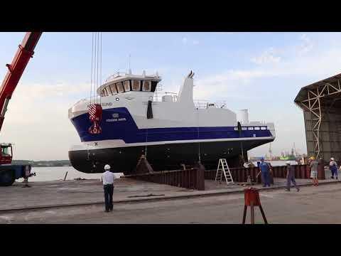 Brodogradilište Tehnomont – Bočno porinuće