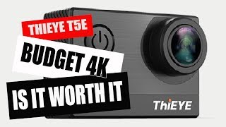 """ThiEYE T5e """"REAL"""" 4k action camera review, is it worth it? OH YEAH !"""