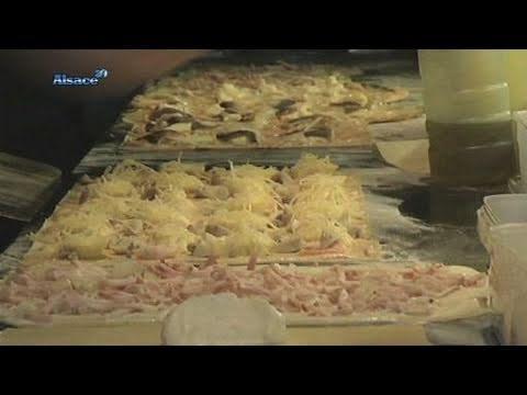 La Tarte Flambée Revisitée Alsace Youtube