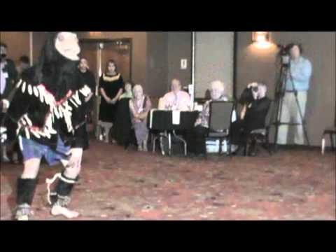 Sasquatch (Sasq'ets) Dance -  Chehalis Sasquatch Dancers at John Green Tribute