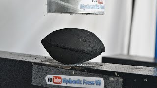 Charcoal vs Hydraulic Press - Can you make diamonds from coal?