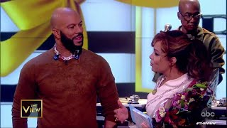 "Common Performs ""My Fancy Free Future Love"" for Sunny 