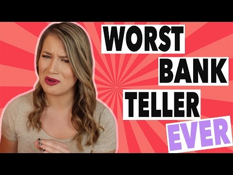 I WAS THE WORST BANK TELLER EVER | STORYTIME