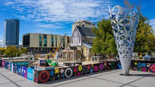 Christ church Cathedral Stabilisation With VIP Structural Steel Christchurch 2020/21