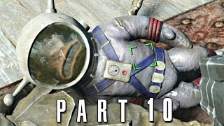 Fallout 4 Walkthrough Gameplay Part 10 - Jangles the Moon Monkey PS4
