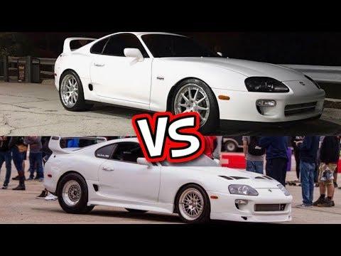Supra VS Supra! Cleetus McFarland Callout!