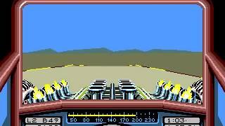 Stunt Car Racer - Roller Coaster race (Amiga)
