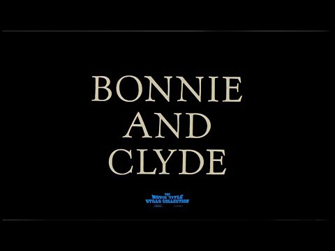 Bonnie and Clyde (1967) title sequence