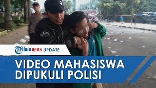 Viral Video Mahasiswa Beralmamater Hijau Dipukuli oleh Oknum Polisi, Polda Sumut Sedang Selidiki
