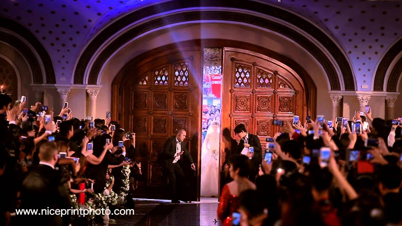 Download Dingdong Dantes & Marian Rivera Wedding Ceremony Teaser by Nice Print Photography