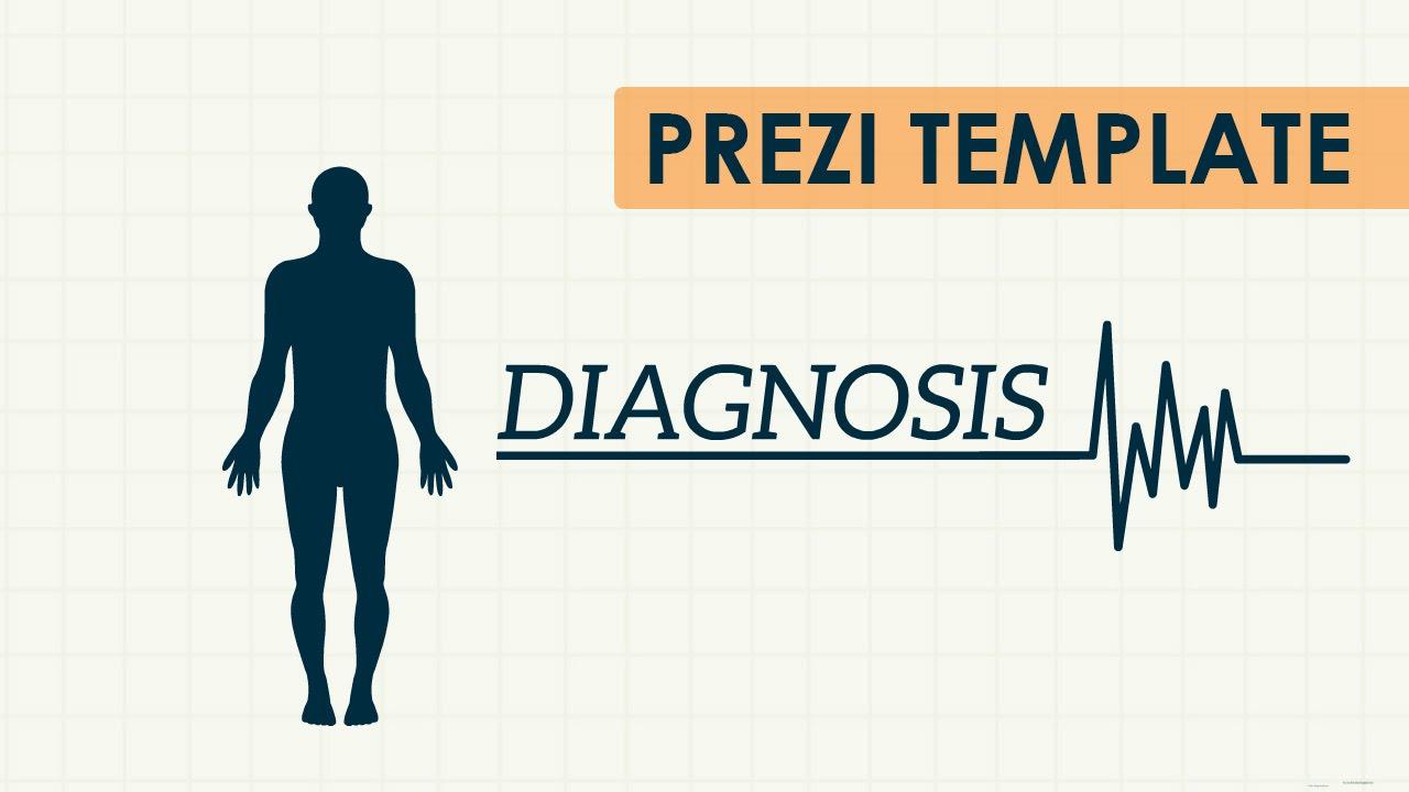 diagnosis - prezi template - youtube, Powerpoint templates