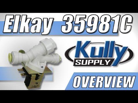 KullySupply.com Elkay Solenoid Valve Overview (35981C)