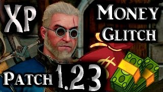 The Witcher 3 Patch 1.31 Infinite fast Money Items XP Glitch