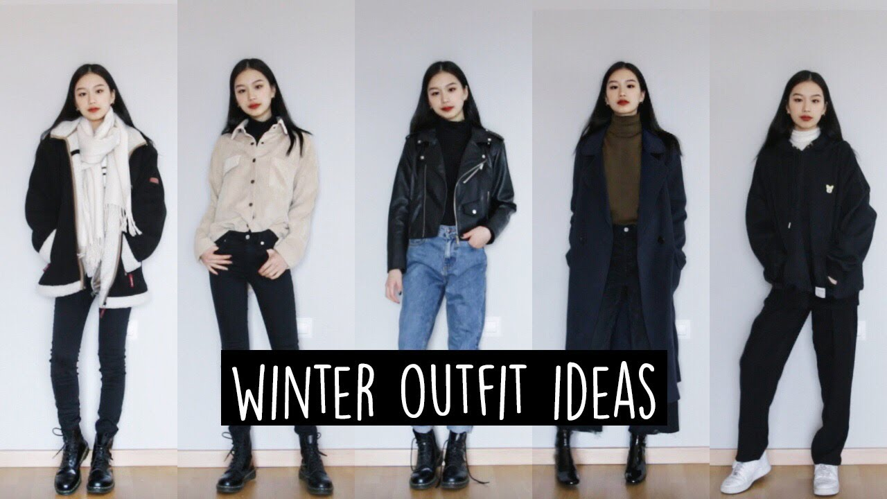 WINTER OUTFIT IDEAS // Layering 1