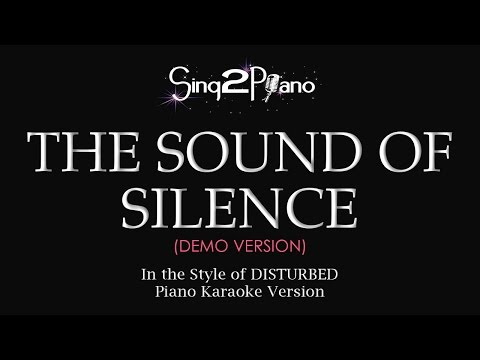 The Sound Of Silence (Piano Karaoke demo) Disturbed