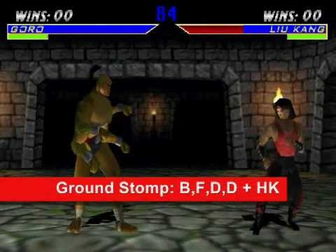 Mortal Kombat 4 (PC): Playing as Noob Saibot and Goro, including ...