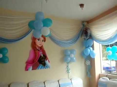 Decoracion frozen youtube for Decoracion de cuartos infantiles