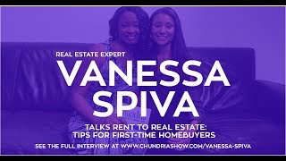 Vanessa Spiva Talks 'From Rent To Real Estate: Tips For First-Time Homebuyers'