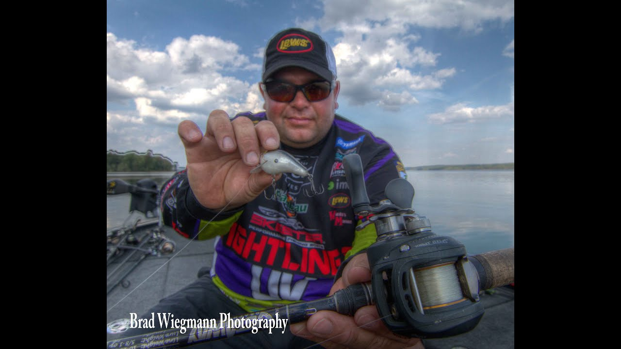 What reel to use for squarebill crankbait fishing featuring Lew's Pro Bill  Lowen