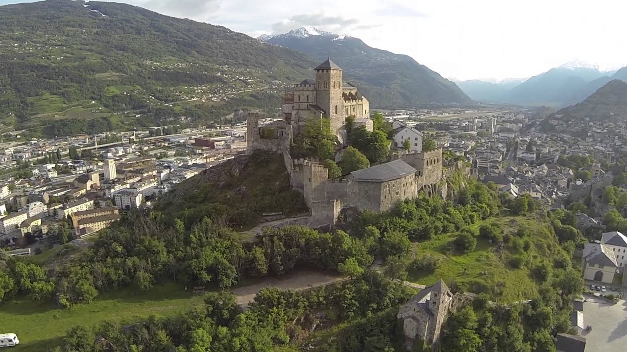 Sion Switzerland  City pictures : Sion Switzerland YouTube