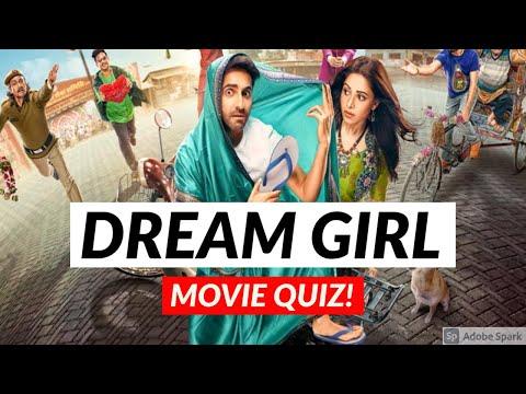 DREAM GIRL MOVIE QUIZ | Ayushmann Khurrana | Nushrat Bharucha | Bollywood Quiz Video 2020