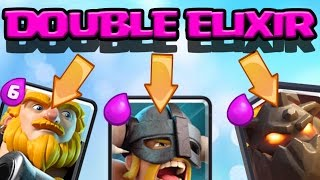3 x Double Elixir 12 Win Battle Decks | Best Challenge Decks | Clash Royale