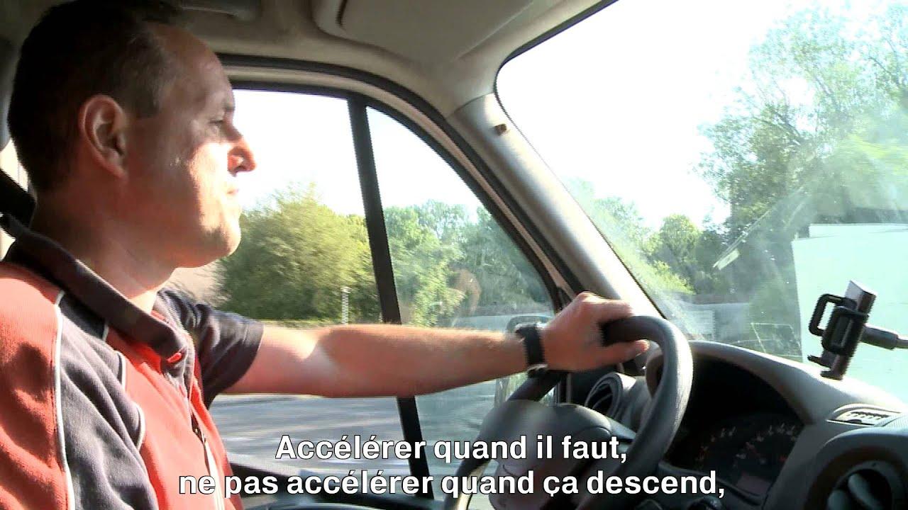 Conducteur Trice Livreur Euse Sur Vehicule Utilitaire Leger