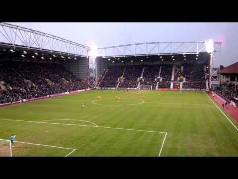 Gavin Reilly Penalty V Motherwell - Hearts 6 - 0 Motherwell