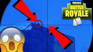INSANELY LUCKY SNIPER SHOT! *wtf* (Fortnite: Battle Royale Highlights/Clips Funny Moments)